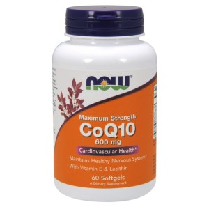 Now Foods CoQ10 600mg
