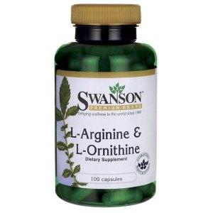 L-Αργινίνη & L-Ορνιθίνη