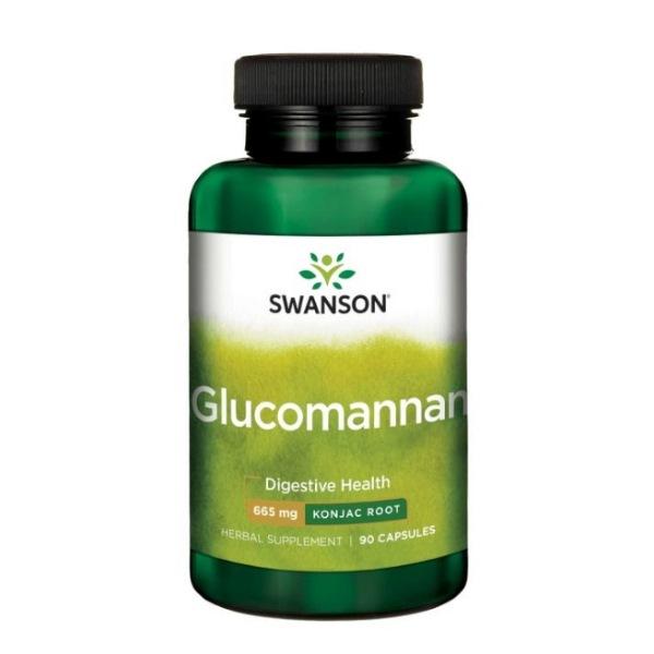 Swanson Glucomannan 665mg