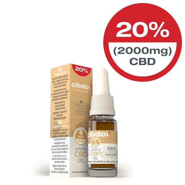Cibdol CBD Hemp seed Oil 20% x 10ml