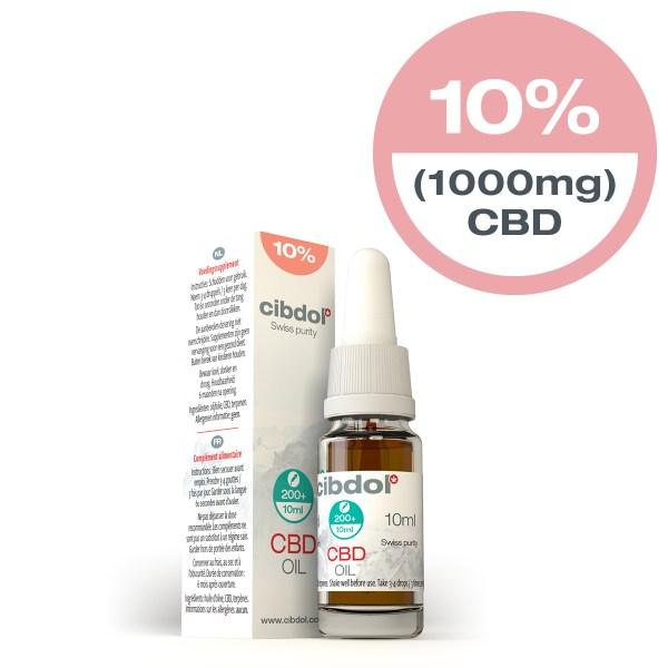 Cibdol CBD Oil 10% x 10ml
