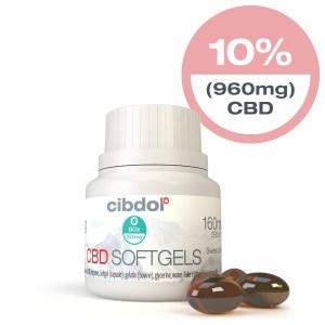CBD Softgels 10%
