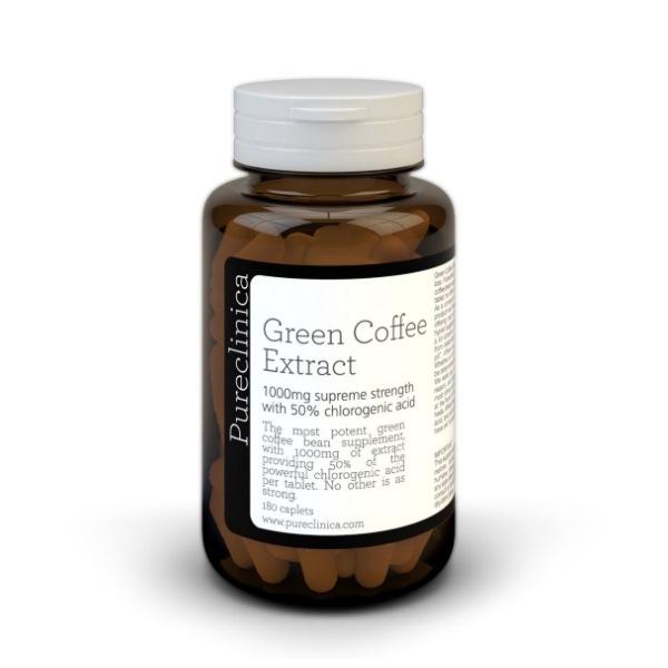 Pureclinica Green Coffee extract 1000mg x 180