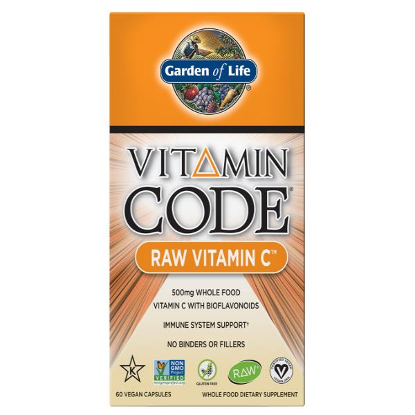 Garden of Life RAW Vitamin C 500mg x 60