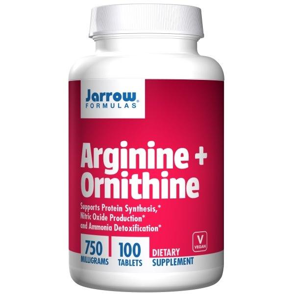 Jarrow Formulas L-Arginine L-Ornithine