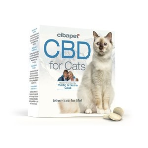 Παστίλιες CBD για γάτες
