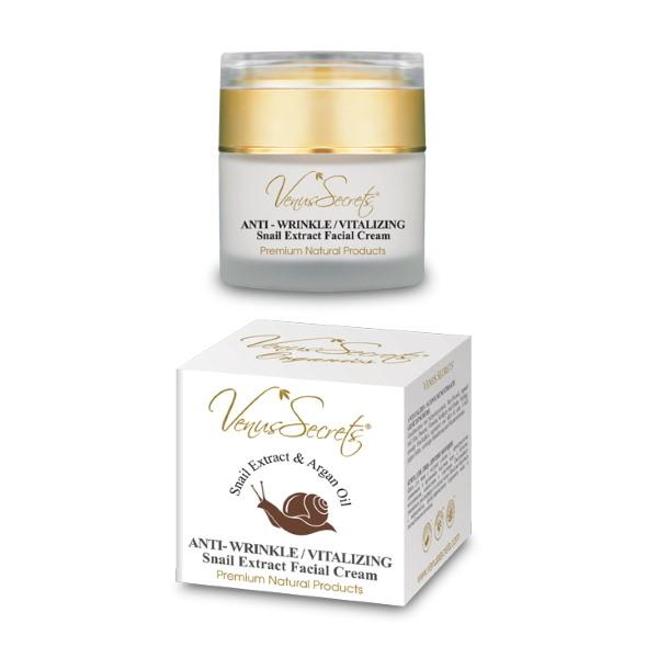 Venus Secrets Antiwrinkle snail extract cream