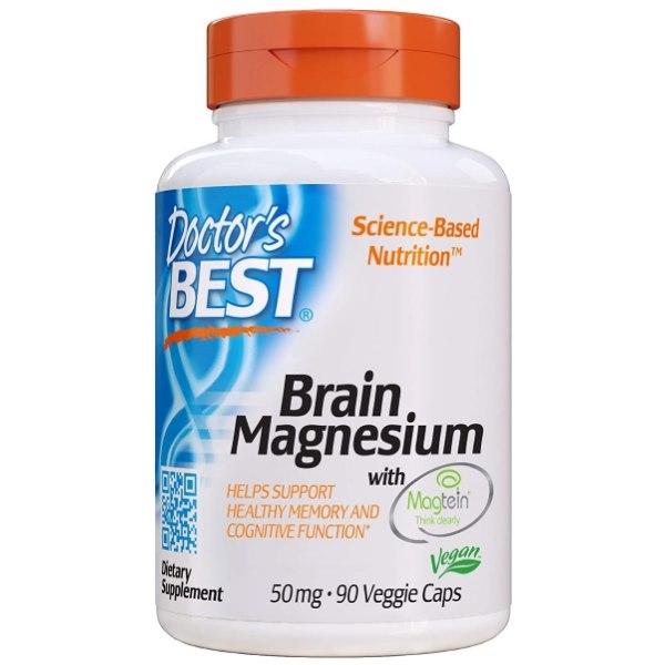 Doctor's Best Brain Magnesium 50mg