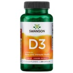 Swanson Vitamin D3 2000iu x 250