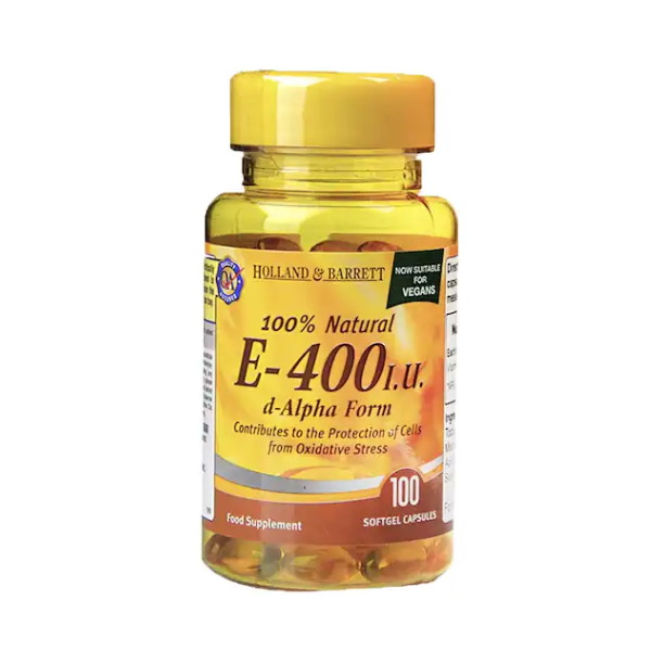 Holland & Barrett Natural Vitamin E 400iu x 100
