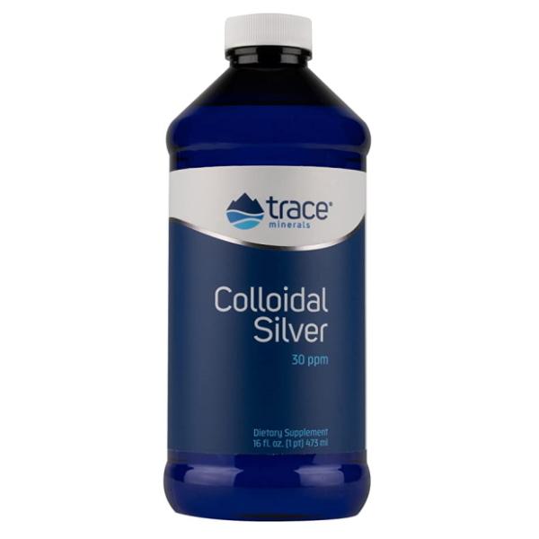 Trace Minerals Colloidal Silver 30ppm x 473ml