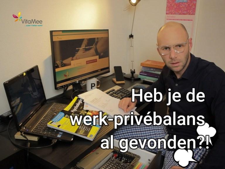 werk-privé balans