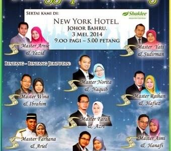 Seminar Menggapai Bintang Johor Bahru