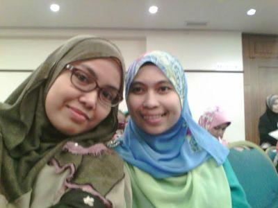 Selfie dengan tokey mynutrisi.com sebelum seminar bermula