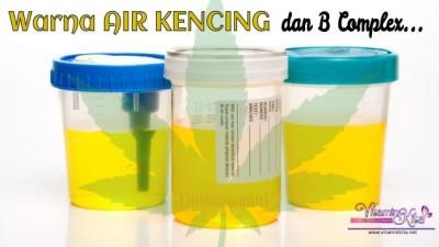 Warna Air Kencing Dan B Complex