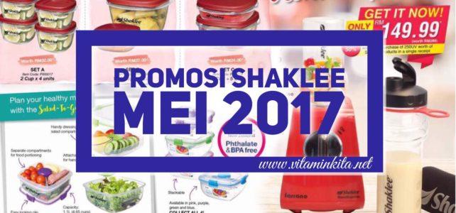 Promosi Shaklee Mei 2017 | Premium Item Shaklee