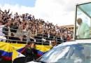 Papa Francesco a Bogotà: siate «promotori della vita»