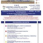 """Matera, 5 lectio magistralis organizzate dal Cav locale: """"La vita è bella, amala!"""""""