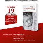 """Pordenone, """"Vita e Famiglia"""": presentazione del libro del Prof. Gigli"""