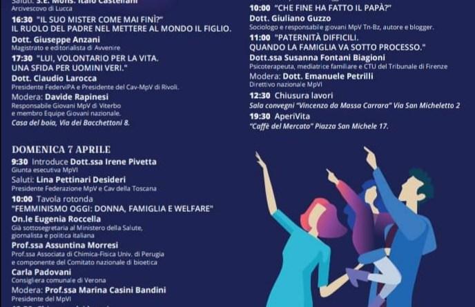 Lucca, Seminario Quarenghi: i giovani del Mpv riflettono sulla figura del padre