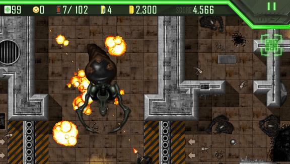 Alien Breed Playstation Mobile 002