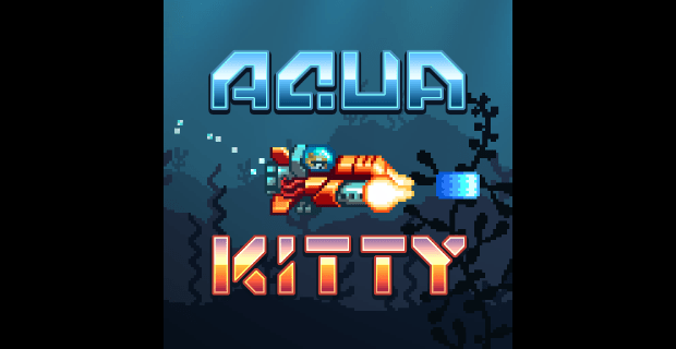 Aqua Kitty Milk Mine Defender Playstation Mobile
