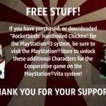 Rocketbirds Hardboiled Chicken PS Vita 04