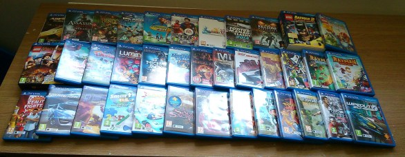 Current PS Vita Collection