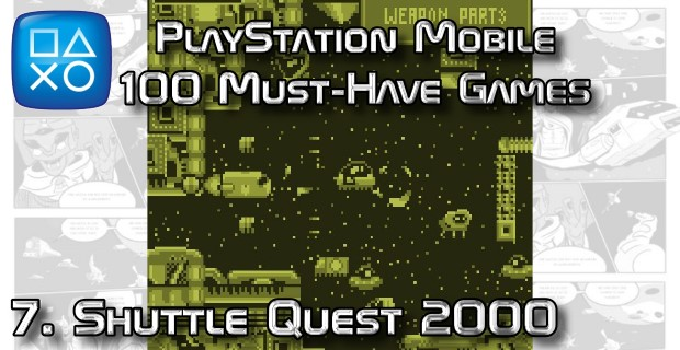 100 Best PlayStation Mobile Games 007 - Shuttle Quest 2000