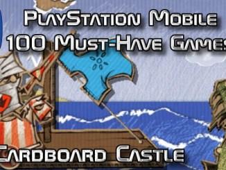 100 Best PlayStation Mobile Games 017 - Cardboard Castle