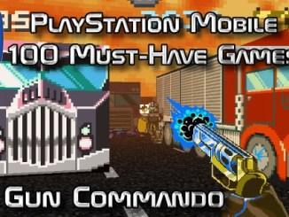 100 Best PlayStation Mobile Games 020 - Gun Commando