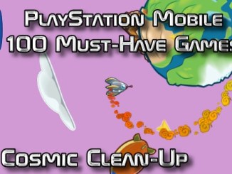 100 Best PlayStation Mobile Games 038 - Cosmic Clean-Up