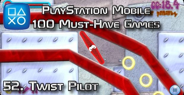 100 Best PlayStation Mobile Games 052 - Twist Pilot