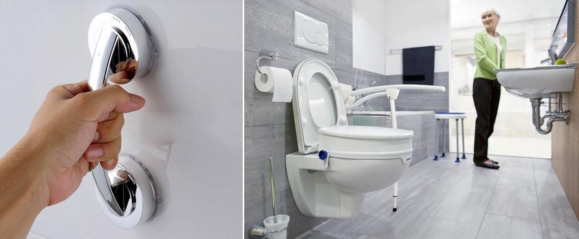 Come scegliere i maniglioni di sostegno sicurezza per il bagno dei disabili