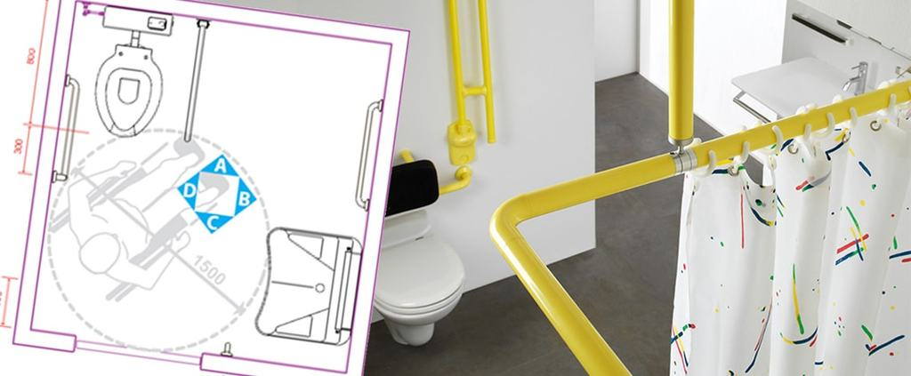 Esempi di bagni per disabili  Vita salute e benessere