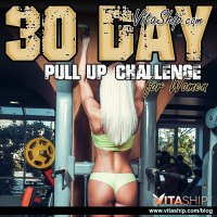 30-Day Pull Up Challenge for Men & Women