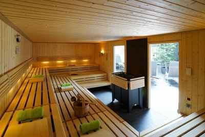 Vita Sports - Innenansicht neue Sauna
