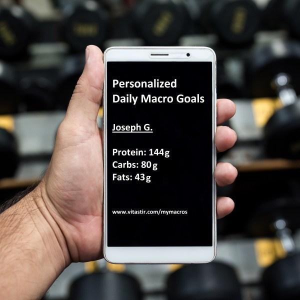 personalized macros