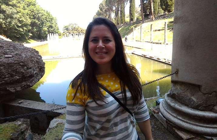selfie a villa adriana