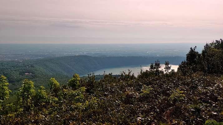 panorama dal monte cavo