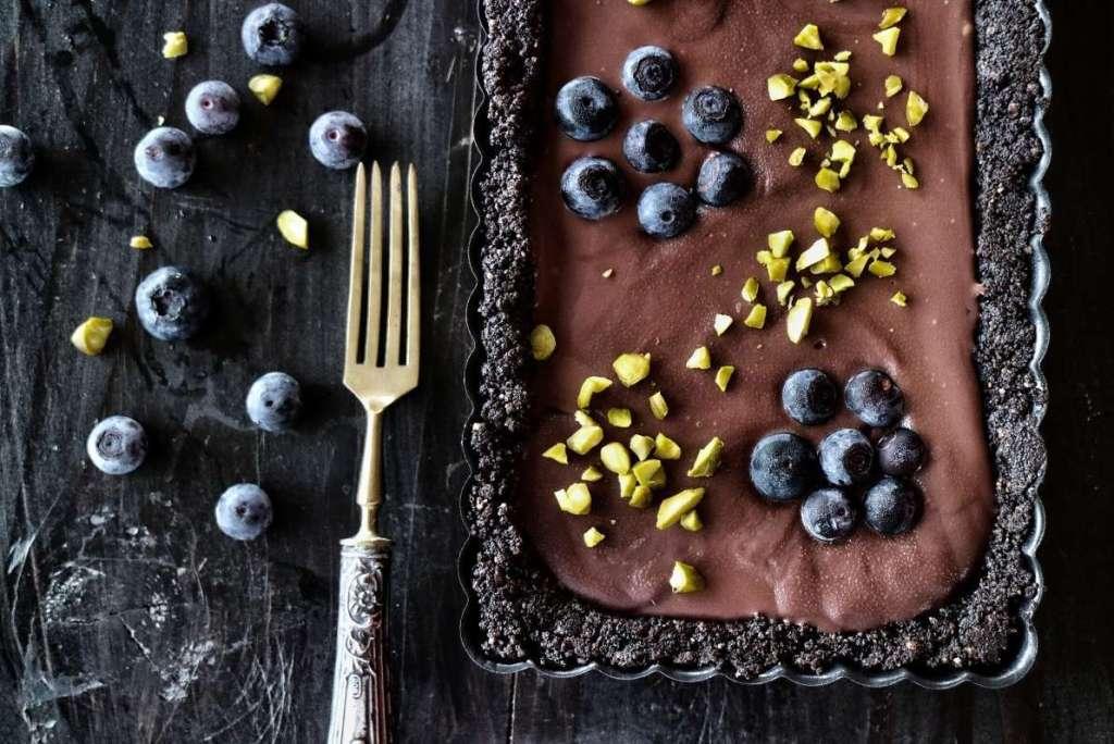 Torta nera al doppio cioccolato senza cottura | Vita su Marte
