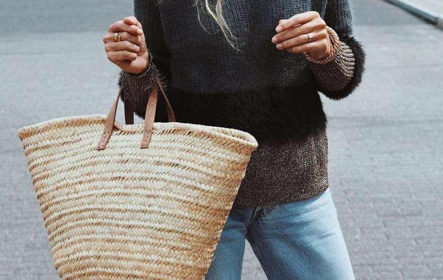 borse di paglia resistono