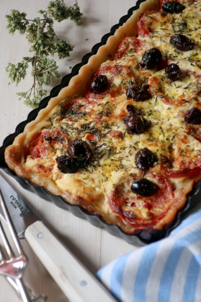 tortino mediterraneo alla francese ricetta
