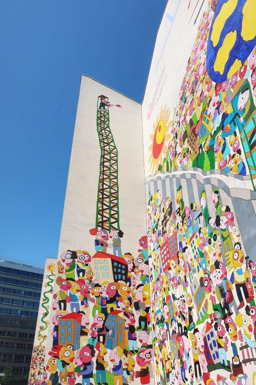 Cosa vedere a Dresda e Lipsia - murales