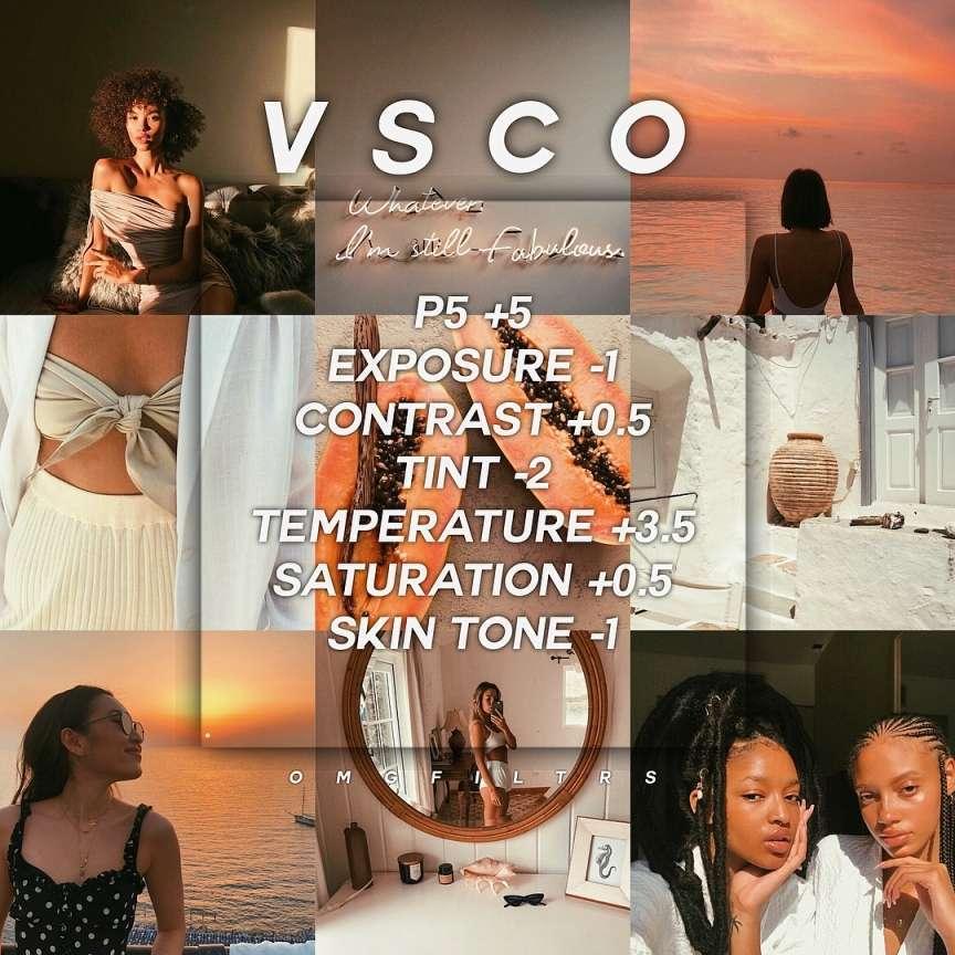 VSCO filtri instagram