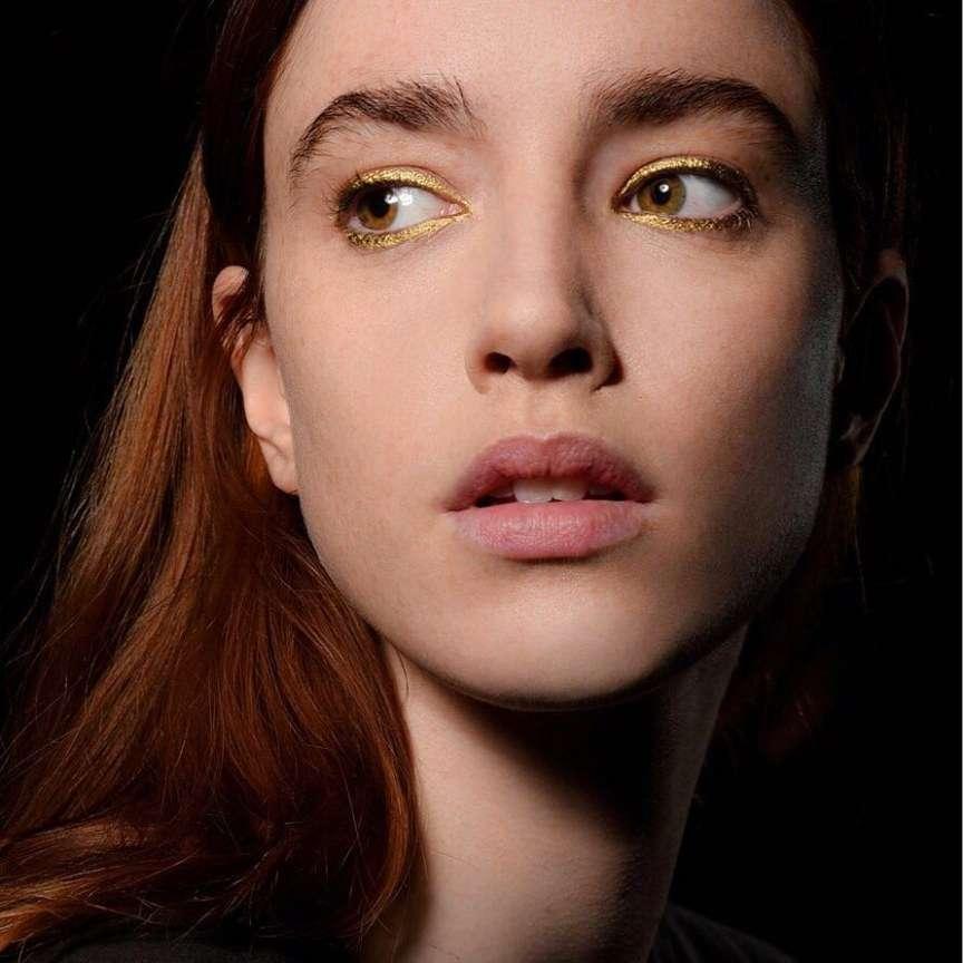 make-up metallizzato