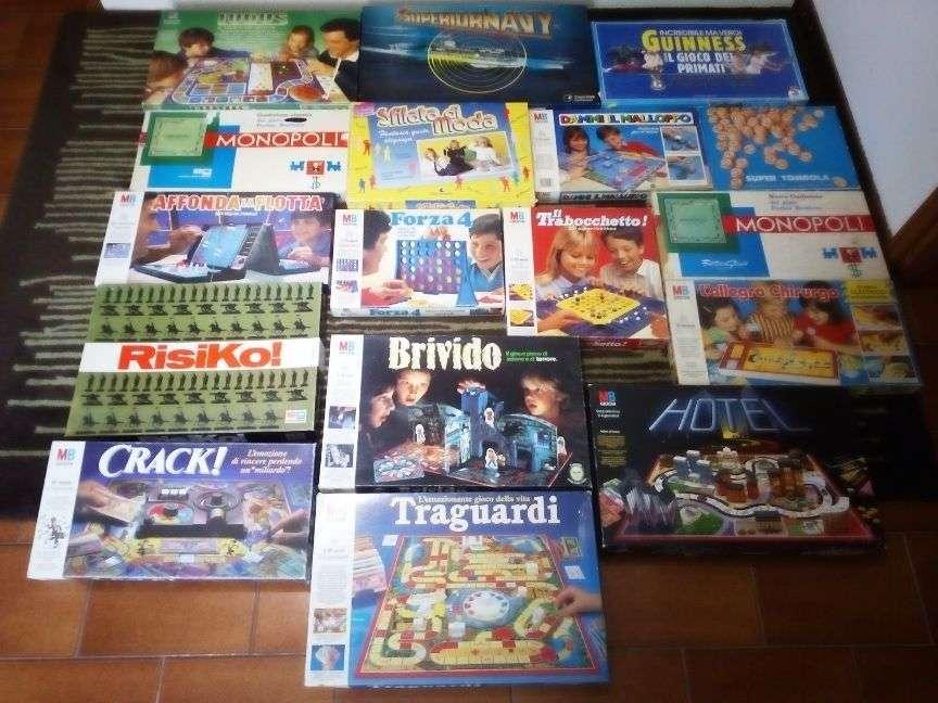 Giochi in scatola anni 80