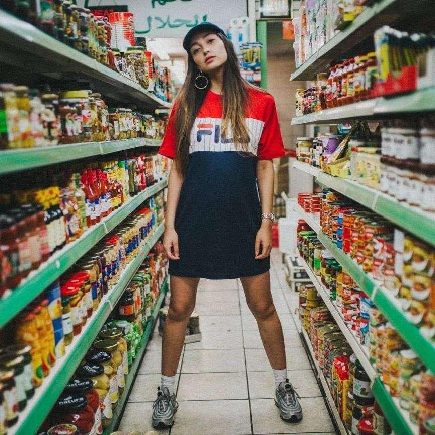 Foto al supermercato | Vita su Marte