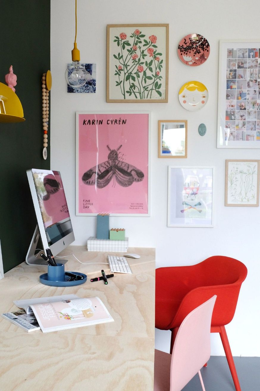 10 idee per l'angolo studio e ufficio a casa | Vita su Marte