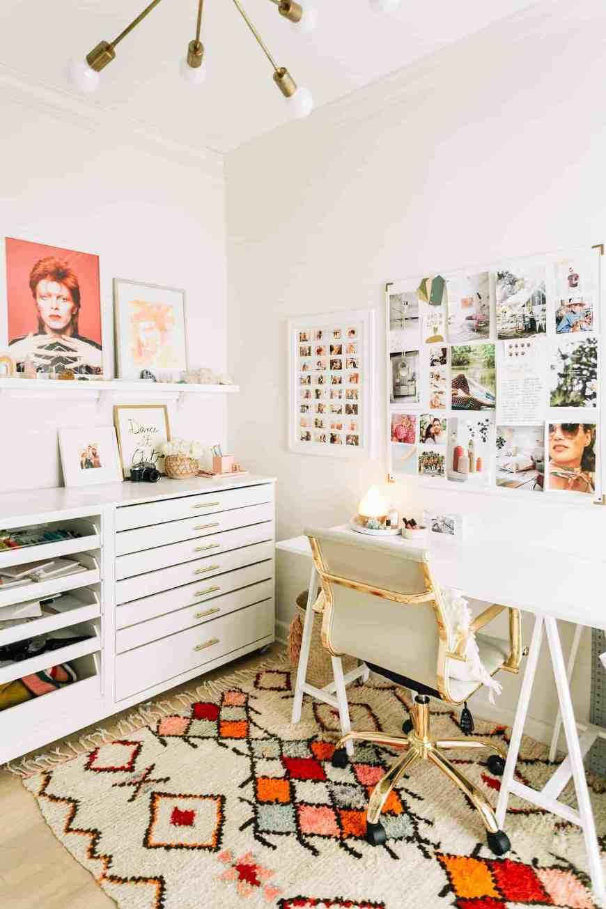 angolo studio e ufficio a casa